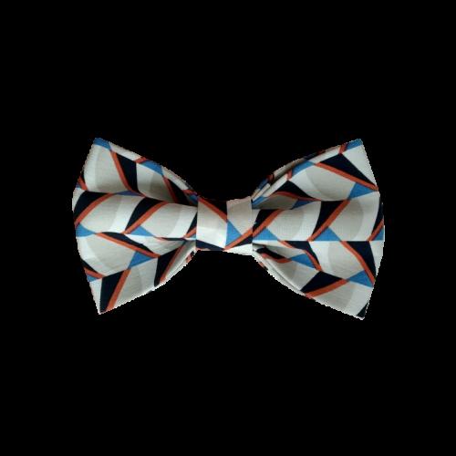 Mašna sa geometrijskim motivima