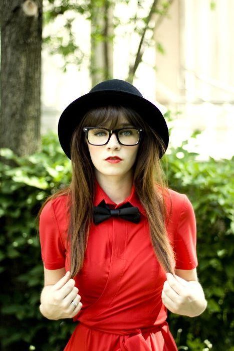 Hipster žena