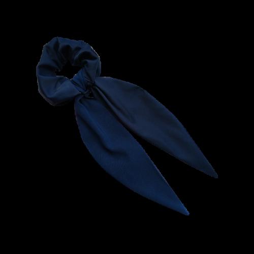 Plava mašna za kosu
